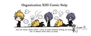 OrgXIII comic strip 1 by eikomakimachi