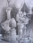 graphite still life by bangalore-monkey