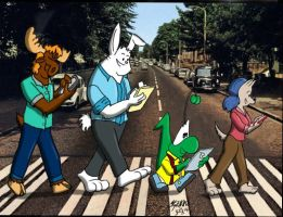 Indeed Abby Road by Tabaxion