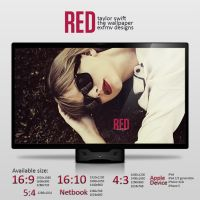 Taylor Swift RED - Wallpaper. by ExFMv