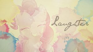 Pinkie Pie (Laughter) Wallpaper by Chadbeats