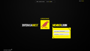 Croowz Homepage by LSPGFX