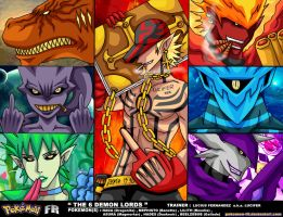 P'Team 2 - The 6 Demon Lords by Pokemon-FR