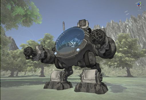 April 'n Bailey Mech v0.1 by SergeantBiscuits