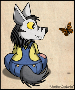 Today I Saw a Butterfly by LordDominic