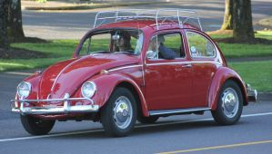 Bug with roof rack by finhead4ever