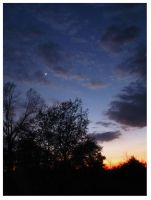 Spring in Tennessee Sunset - 2012 by CrystalMarine-Arts