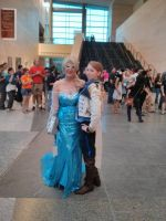 Elsa and Hans - Animazement2014 by Kira-Kat