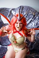 Red Gyarados used Rage! by TerminaCosplay