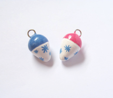 Sparkling Snow Cone Charms by MariposaMiniatures