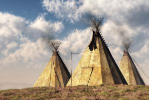 Teepees by deskridge
