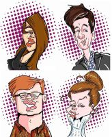Live Digital Caricatures by DoodleArtStudios