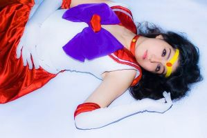 Sailor Mars Cosplay Inner fire to outter soul by konohanauzumaki
