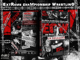Wwe Ecw Un Released Dvd Cover by THE-MFSTER-DESIGNS
