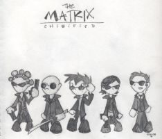 The Matrix: Chibified by shad0w-chan