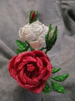 Beads roses by Vaimarin