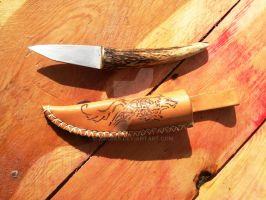 Small Viking Knife by xrabas