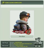 Point Blank Icon by CODEONETEAM