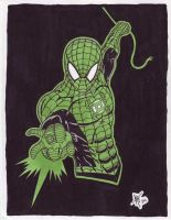 Marvel-ous Lanterns-WillSpidey by AdamTupper