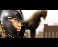 Troy wallpaper by husseindesign