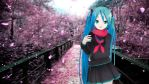 [MMD] Spring on a Lovely Bridge [Hatsune Miku] by TheKashirader