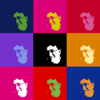 Gabe Newell Andy Warhol Style by speckz