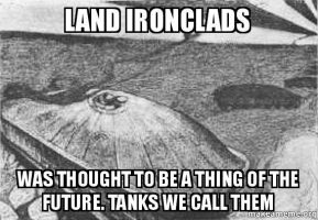 Land Ironclads by Hellomon100