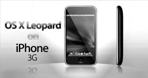 OS X on iPhone BW by Jonathan3333