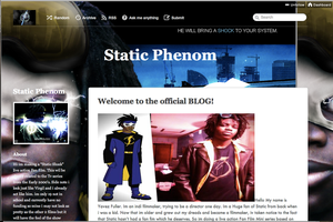 Official Static Shock Fan Film Tumblr by YVZ93STATIC