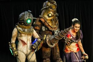 Bioshock 2 Cosplay by Millster-Ink