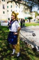 Sailor Moon Cosplay - Bunny by ShiroiNekosArt
