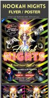 Hookah Night Club PSD FLyer Poster Party Bash by amrhamza