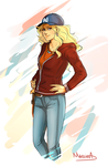 Speed Paint: Annabeth Chase by MariaAart