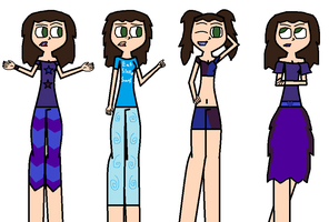 Carly Ref Sheet by Demonqueen23