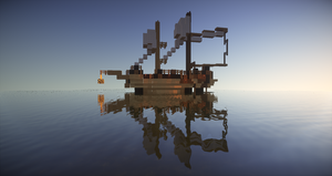 Boat by MinecraftLeo