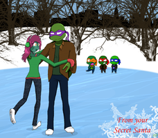 TMNT Secret Santa 09 by Raphaelsgirl