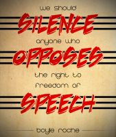 Silence the Opposition by MattShadoinDesign