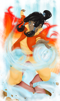 korra by singingcatartist12