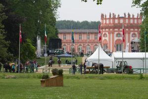 Wiesbaden Park Riding Competition BG by LuDa-Stock