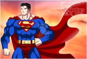 Superman claudius style by BR-ONYX-STUDIOS