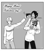 Happy Hated Valentines Day by NineInjections
