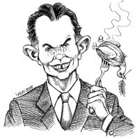 Tony Blair: What, me worry? by Latuff2