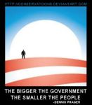 The Bigger the Government no.3 by RedTusker