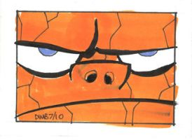 Blue Eyed Soul Sketch Card by thecheckeredman