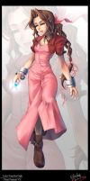 Aeris Gainsborough - FFVII by reitschule