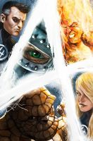 Fantastic Four-The Eye of Doom by carstenbiernat