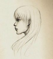 Profile sketch practice by ShintoFuneral