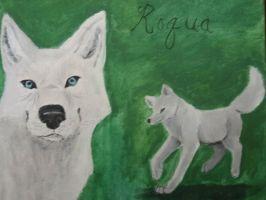 Kamikan wolf series - Roqua by Howling-Wolf