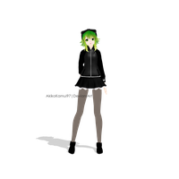 MMD PD Megpoid Gumi- Secret Police + Download Link by AkikoKamui97