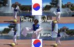 Happy Birthday Korea by Lolligag-Love